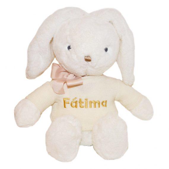Mjukisdjur kanin med namn