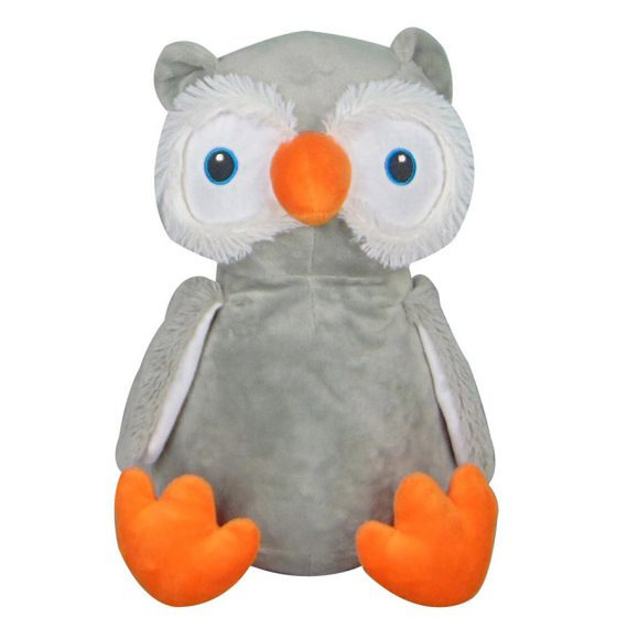 Mjukisdjur med namn – Uggla Cubby – TeddyPost – Personliga Presenter