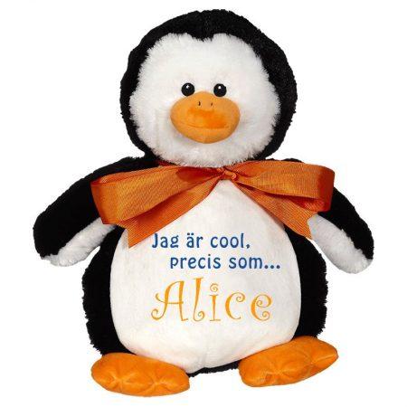 Mjukisdjur Pingvin med namn