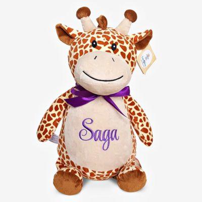 Giraff gosedjur med namn