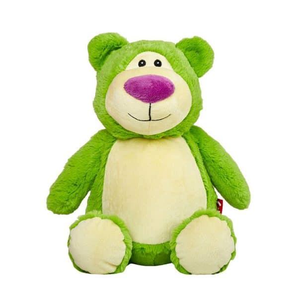 Grön nallebjörn