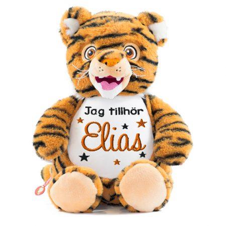 Tiger mjukisdjur med namn