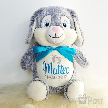 Grå kanin - Mjukisdjur med namn