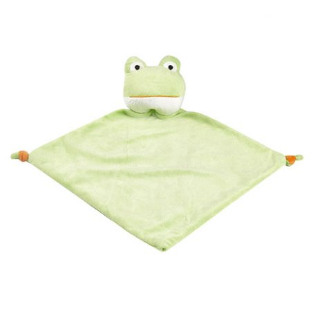 Grön Groda Mjukisdjur FIlt