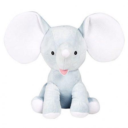 Blå elefant mjukisdjur