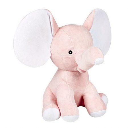 Rosa elefant mjukisdjur