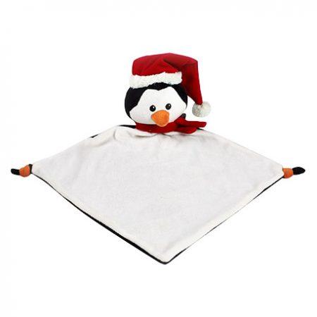 snuttefilt pingvin som personlig julklapp