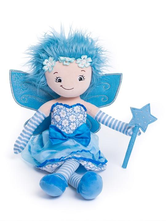 Trasdocka - Blå fe - Personlig med namn