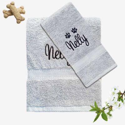 Handdukar till hund