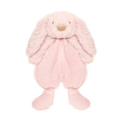 Lolli bunny snuttefilt rosa
