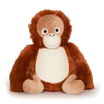 Orangutang med namn mjukisdjur