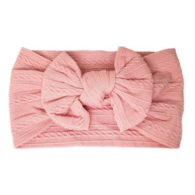 Hårband bebis mint i rosa
